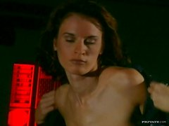 Striptease and Blowjob by Sexy Babe Wanda Curtis