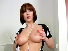 Hot referee with big titties