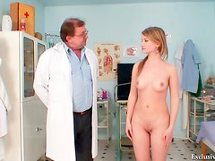 Doctor puts objects inside her