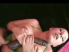 Gianna Michaels receives a rich milky shower of cum on her body