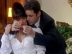 Sex On The Wedding Day with Brunette Bride Tania Russof