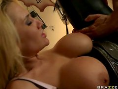 Very Busty Blonde Babe Alanah Rae Fucked Hard By An Outlaw