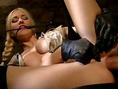 Julie Silver Wears Sexy Stockings And Gets Her Asshole Banged