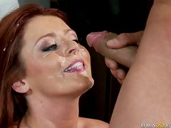 Anal Sex For Busty and Randy Redhead Babe Sophie Dee