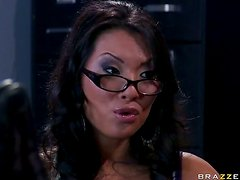 Anal Licking and Fucking For Asa Akira who Gives a Blowjob For Cum