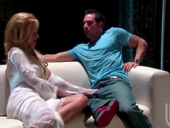Blonde cougar Payton Leigh Eager To Suck and Fuck a Big Cock