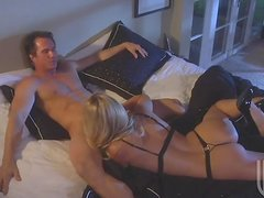 Gorgeous Blonde Jessica Drake Needs a Cock For Her Pussy