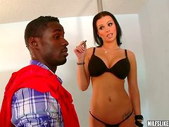Turning the Cute Brunette Bailey Brooks Into a Horny Wild MILF