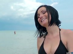 After Some Beach Fun It's Time For Veruca James To Have Anal Sex