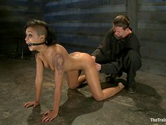 Bondage Fun With A Hot Babe And Her Master