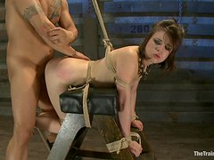 Horny Slave's Fucked Hard By Her Master