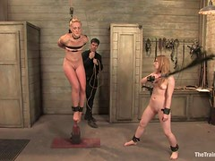 Devilish Master Has His Way With Two Kinky Servants
