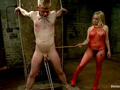Femdom Toture From A Hot Blonde Mistress