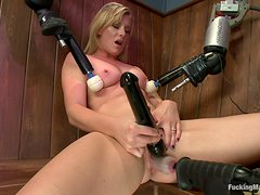 Machine Sex For The Busty Blonde Jessica Heart