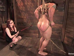 Redhead Makes Her Slaves Life A Living Nightmare