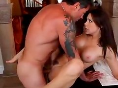 Amazing Rough Sex With The Hot Brunette Chanel Preston
