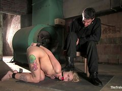 Horny Servant Sucks Her Master's Big Cock