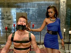 Hot Mistress Has A Great Time Playing With Her Servant