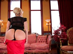 Horny Mistress Gives You A Boner While Showing You Her Ass