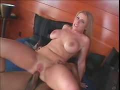 Busty Hot Blonde Daphne Rosen Getting Her Shaved Pussy Penetrated