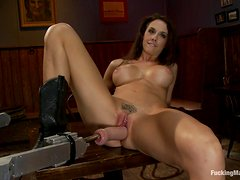 Horny Chanel Preston Orgasming with Fucking Machines and Vibrator