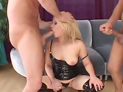 Anal Pleasure For A Kinky Blonde With A Sexy Body
