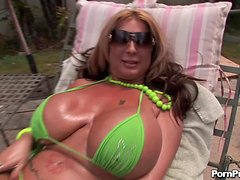 Enjoying Busty MILF Summer Sin's Huge Tits and Pussy