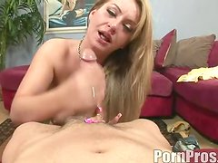 Great Deepthroat and Anal Action with an Expert Cock Sucking Slut