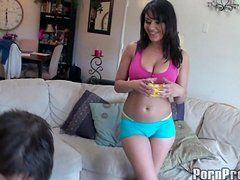 A Very Erotic Massage For The Hot Brunette Charlie Chase