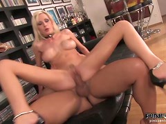 A Strong Anal For The Slutty Blonde Greta Martini