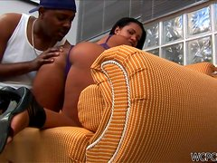 Baianinha Is A Hot Latina In Love With Big Black Cocks