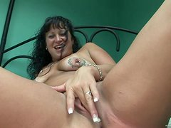 One On One Solo Clip With A Horny Mommy In POV Clip