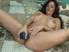 Alone Time For A Kinky Milf With A Dildo