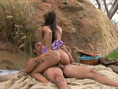 A Wonderful Picnic Turns Into An Amazing Outdoors Clip