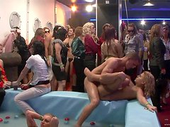 Party Time With Slutty Babes And Horny Strippers