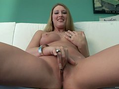 POV Teasing With A Naughty Blonde Teen