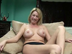 Sexy Milf Plays With Herself Just For You