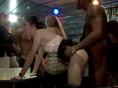 Kinky Babes Have A Party With Horny Strippers