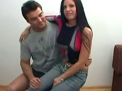 Pussy fetish with Joanne who rides a complete stranger