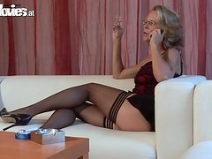 Big dick casting by a sexy and hungry mature lady Marga