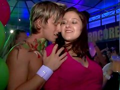 Awesome teen party goes wild and dirty