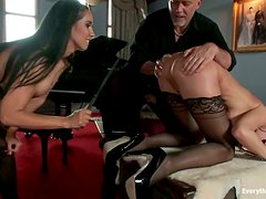 Sweet Eva Karrera gets her ass fucked and facialed