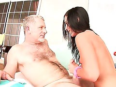 Old Cabana Banana Blowjob / Ashli Orion