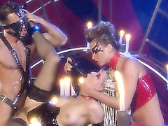 A Three-some with Latex and Candles. Part 4