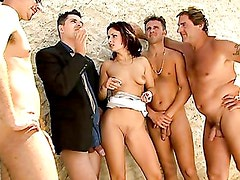 Daniella Rush: Gangbang and Double Anal. Part 5