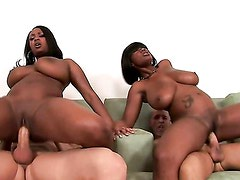 Black Chicks With Big Tits / Stacy & Aline