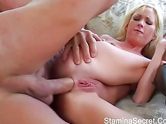 Hot Brunette Got Fucked Really hard And Got A