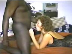 Sexy mature in bodystocking with BBD