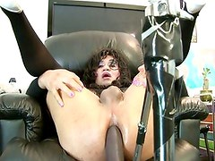 Dildo Crazed Tranny