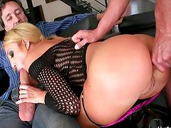 Amy Brooke sexy double anal penetration